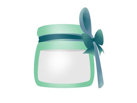 Yogurt ribbon blue
