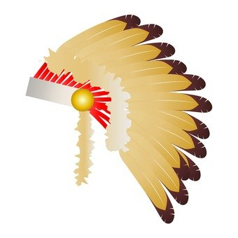 Indian wings decoration