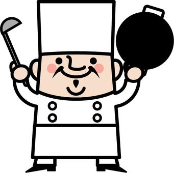 Chef cinese di zio fata