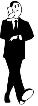 Walking businessman 2 - 2
