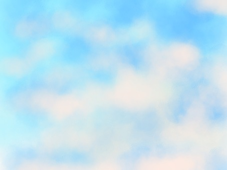 Background material blue sky 6