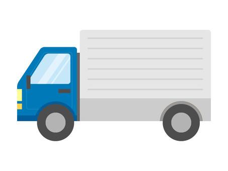 Truck (blue)