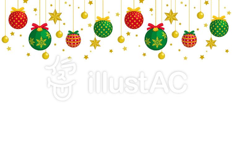 クリスマスオーナメントイラスト No 33911無料イラストなら
