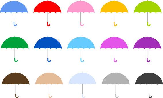 傘 カラーセット