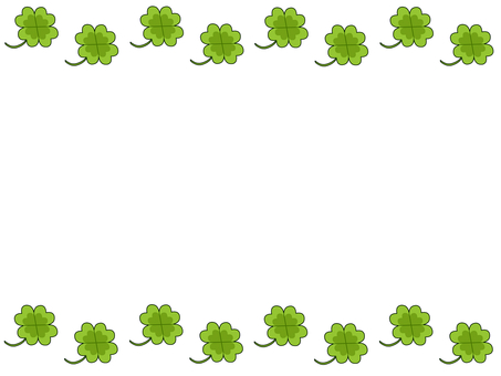 Yotsuba clover frame