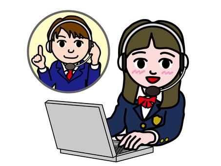 PC操作1018英語會話女學生