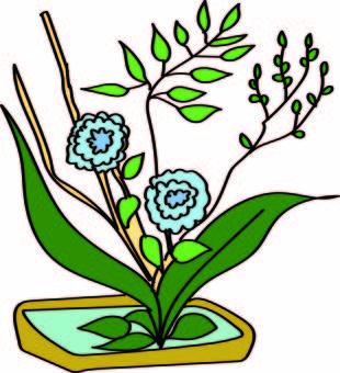 July Ikebana