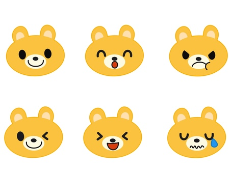 Bear icon yellow
