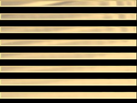 Horizontal stripes - Gold