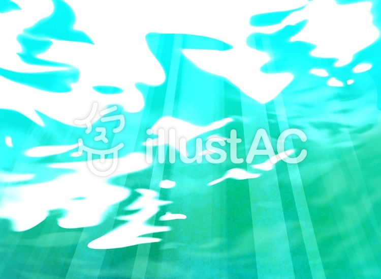 綺麗な海にさす光イラスト No 1199335無料イラストならイラストac