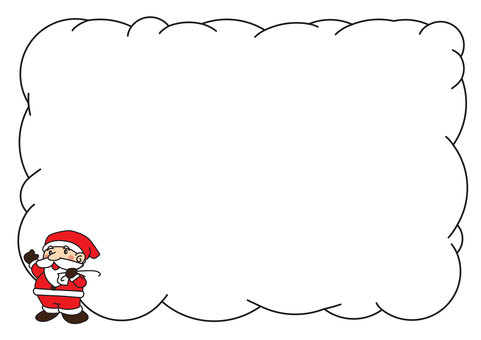 Santa's message card