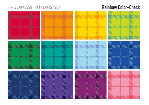 Seamless pattern set / dots
