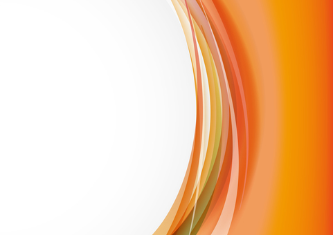 Vertical Wave - Orange