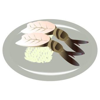 초밥 참 새우