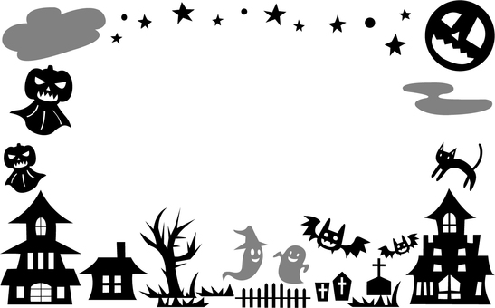 【Card】 Halloween Black