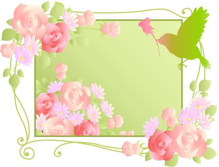 Flower frame 32