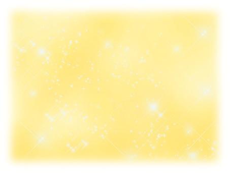 Glittering background yellow blur