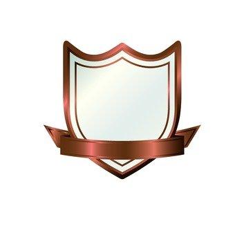 Fashionable bronze frame