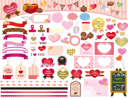 Valentine's material collection