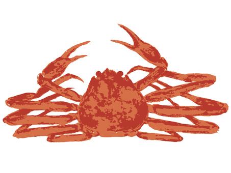 Food material <crab>