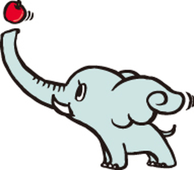 Elephants and apples