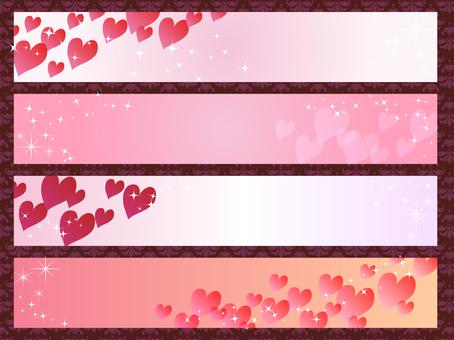 Valentine's Banner Set