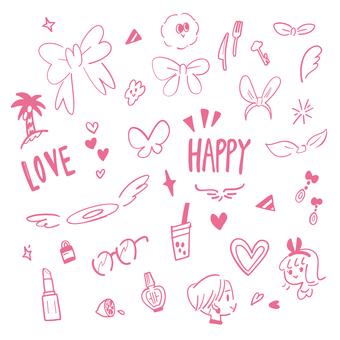 Something HAPPY (pink)