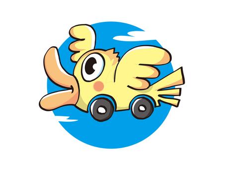 Car bird