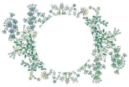 Botanical Frame (Leaf) -02