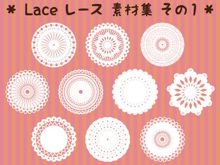 Lace Lace Material Collection Resumen 1