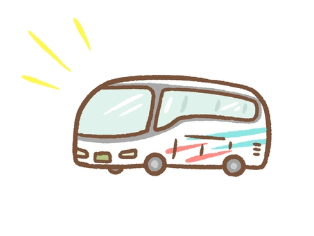 Bus for sightseeing
