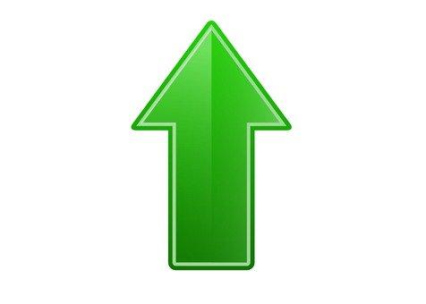 Up arrow (green)
