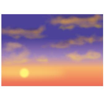 Layout sunset