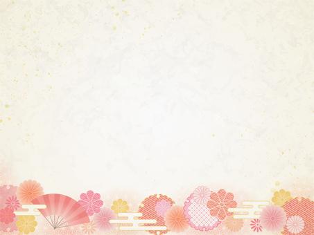 Full of chrysanthemums