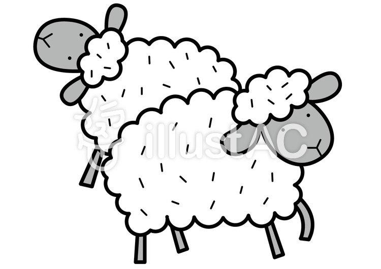 羊2-2cのイラスト
