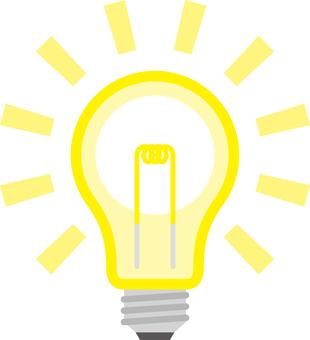 燈泡想法天氣