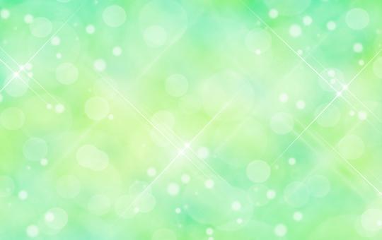 新緑イメージのキラキラ背景素材