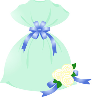 Gift bag (blue)