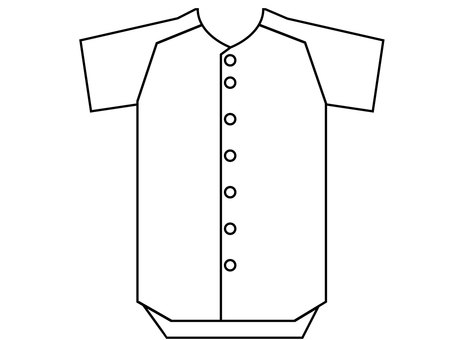 Baseball uniform jersey