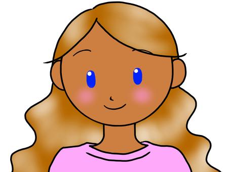 Brown hair lady 5
