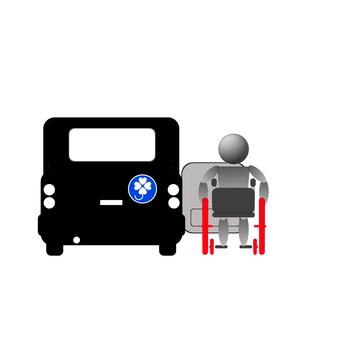 Wheelchair driver's seat ride 2