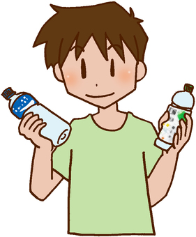 Water intake, selection, sports drink