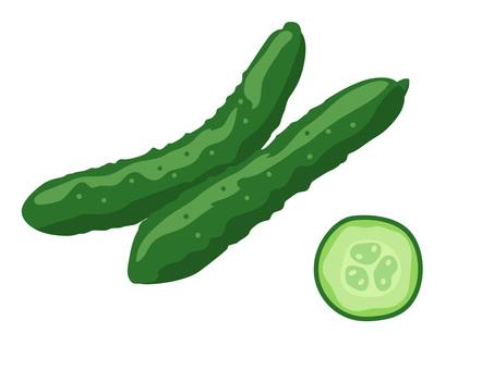 Ingredients _ vegetables _ cucumber _ no wire