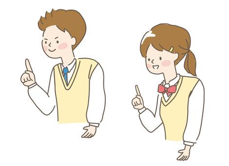 Junior high school students