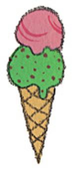 Ice cream (double)