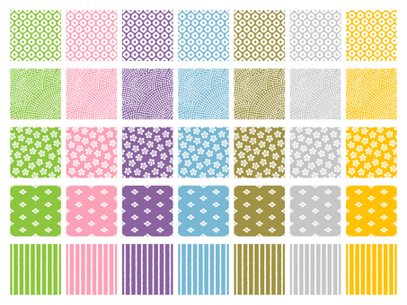 [Revised] Japanese Pattern Pattern Collection Edo Komori style