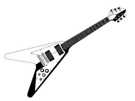 Flying V guitar