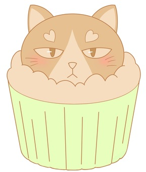 Cute cute cupcake (pattern 2)