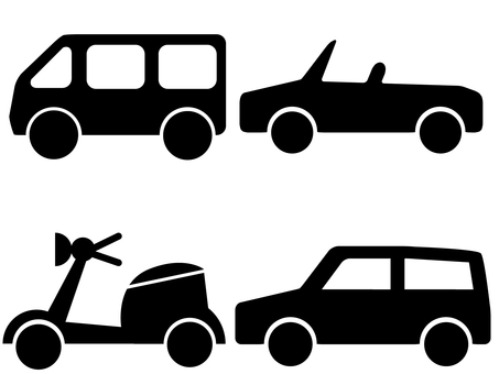 Vehicle set 02 (silhouette)