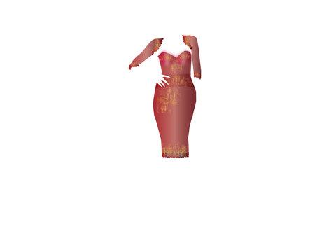 Dress up dress 04